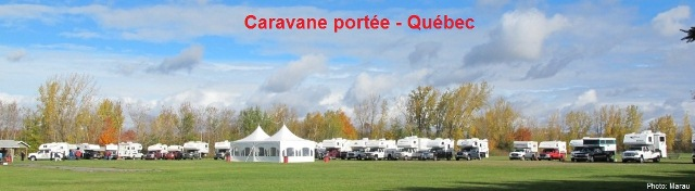 Caravane portée - Québec