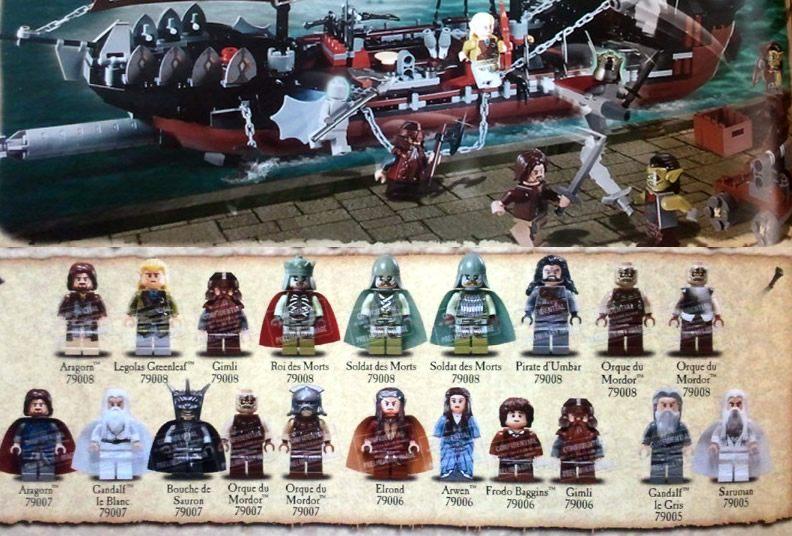 LEGO seigneur des anneaux 2013