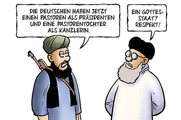 achtung religion und politik