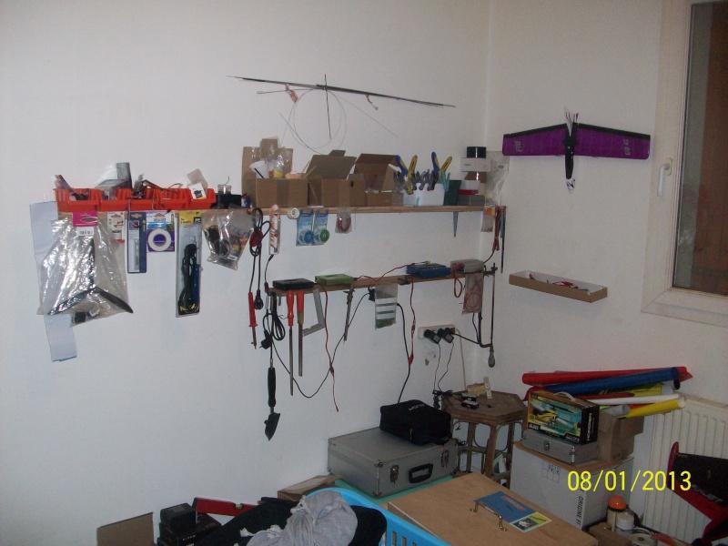 mon futur atelier modelisme. Black Bedroom Furniture Sets. Home Design Ideas