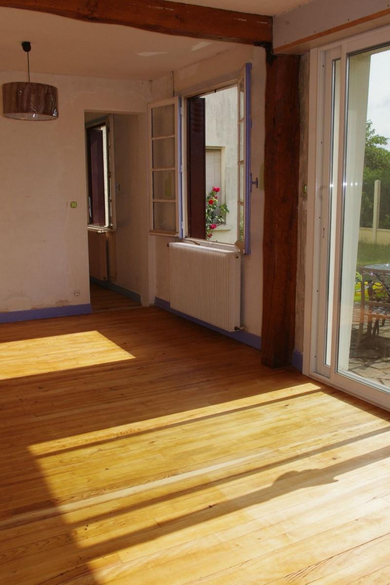 La recherche des couleurs de notre s jour salon meubles canap achet s - Parquet clair quelle couleur aux murs ...