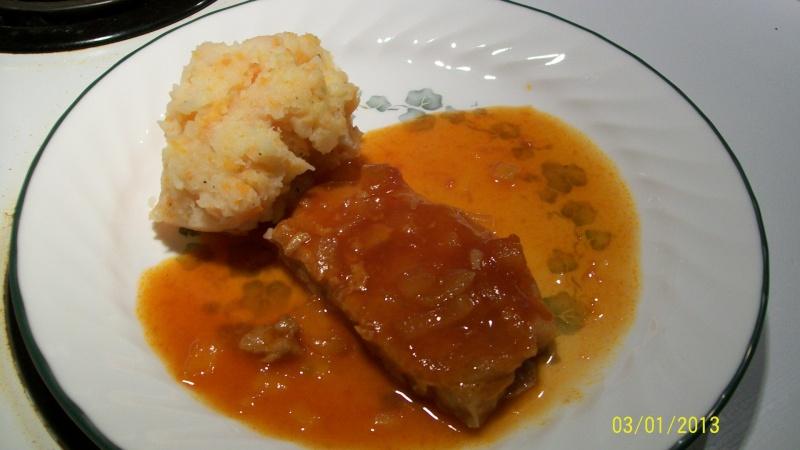 C telettes de porc sauce sucr e - Cotelette de porc coupe hotel ...