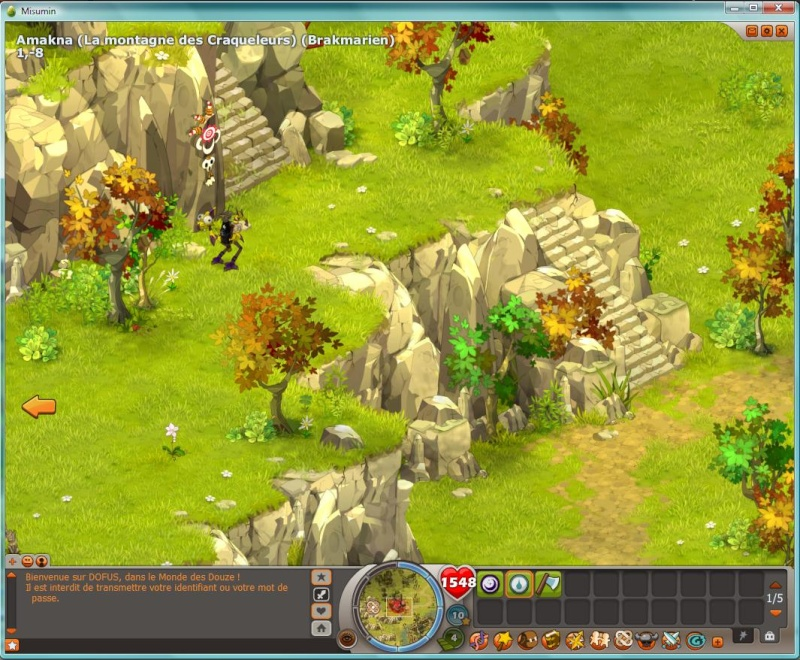 Carte temple dofus