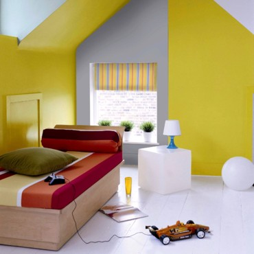 Peinture salon sejour cuisine for Association des couleurs en decoration